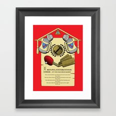 We do, we do! Framed Art Print