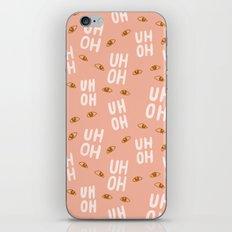 Uh-Oh Pattern iPhone & iPod Skin