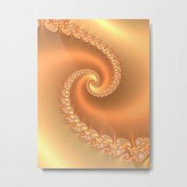 Butterscotch Metal Print