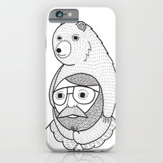 On how baby bears are often used as winter hats Slim Case iPhone 6