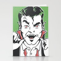 dracula Stationery Cards featuring Dracula by NathanJoyce
