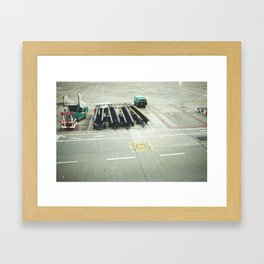 pre flight Framed Art Print