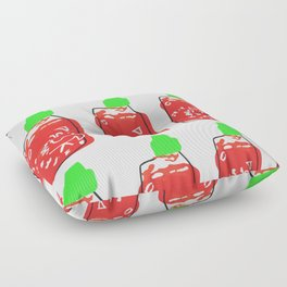 sriracha Floor Pillow