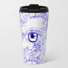 Abstractive Eye Ink Travel Mug