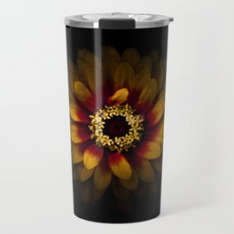 Backyard Flowers 69 Color Version Travel Mug