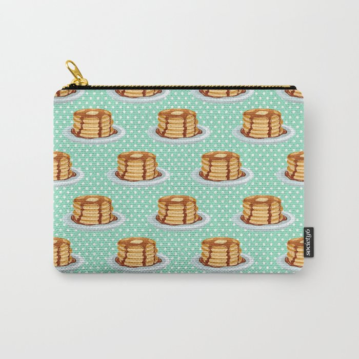 Pancakes & Dots Pattern Carry-All Pouch