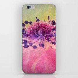 Flat Flower Cartoon iPhone Skin