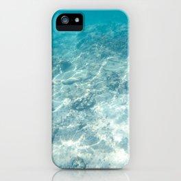 Under the aqua sea iPhone Case