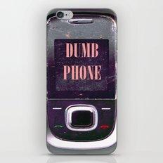 Dumb Phone iPhone & iPod Skin