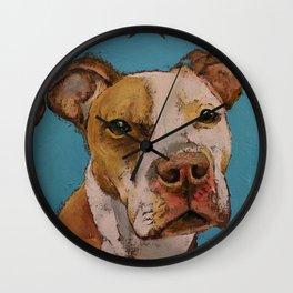 American Pit Bull Wall Clock