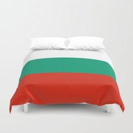 flag of bulgaria -bulgarian, България,български,slav,cyrillic,Sofia,bulgaria Duvet Cover