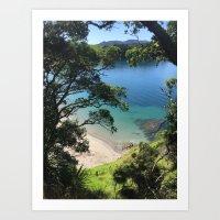 Urupukapuka Island Art Print