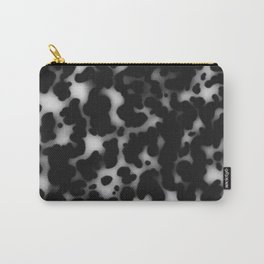 Tortoiseshell tortoise shell Balck and white  Carry-All Pouch