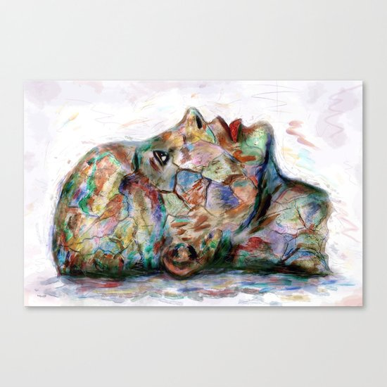 Drawing Conclusions Canvas Print