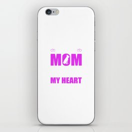 Rescue Dog Moms Full Heart Mothers Day T-Shirt iPhone Skin