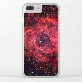 Rosette Nebula Clear iPhone Case