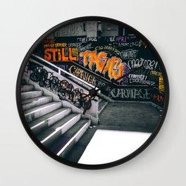 Graffiti II Wall Clock