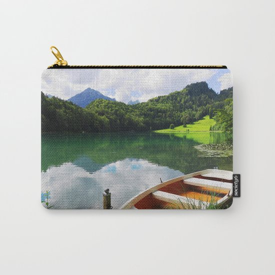 rowing boat on Alatsee Carry-All Pouch