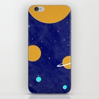solar system iPhone & iPod Skins featuring Solar System by Quinn Shipton