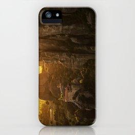 Golden hour at Meteora iPhone Case