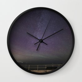 Airglow Metor shower Wall Clock
