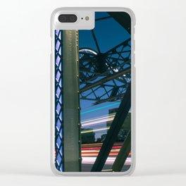 Urban Nights, Urban Lights #4 Clear iPhone Case