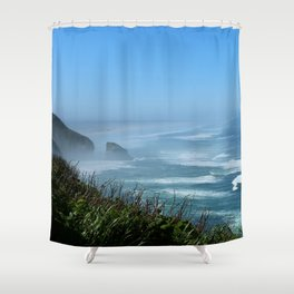 At Devils Elbow Bay Shower Curtain
