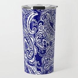 paisley batik Travel Mug