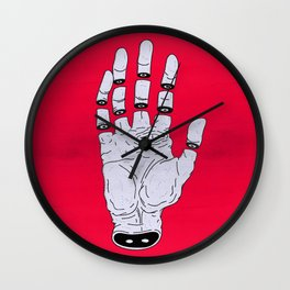 THE HAND OF ANOTHER DESTYNY Wall Clock