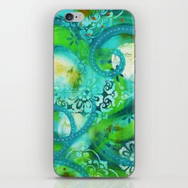 Swirly Roads iPhone Skin