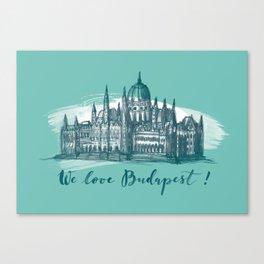 Budapest No. 4. Canvas Print
