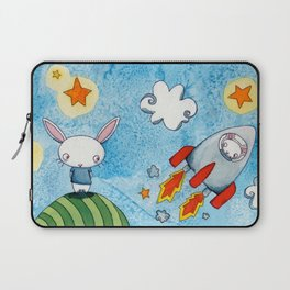 To The Moon Laptop Sleeve