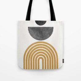 Rainbow and Moon Tote Bag