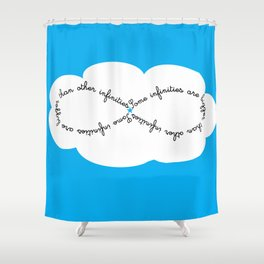The Fault in Our Stars - Hazel and Gus Shower Curtain