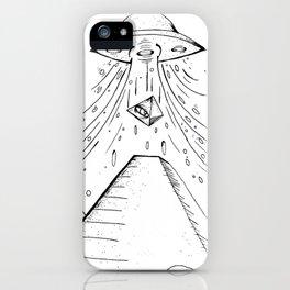 UFO Pyramid Capture iPhone Case