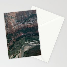 Zion Canyon Stationery Cards