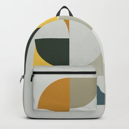 Mid Century Geometric 13 Backpack