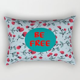 be free quote Rectangular Pillow