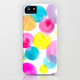 Confetti paint iPhone Case