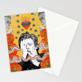bowie by spunkynelson Stationery Cards