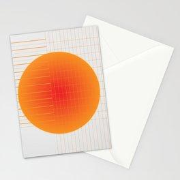 Binary Glow Stationery Cards