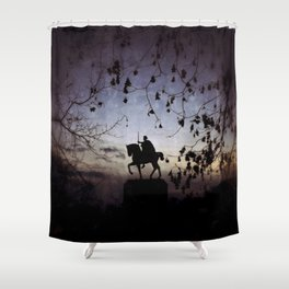 King Tomislav statue Shower Curtain