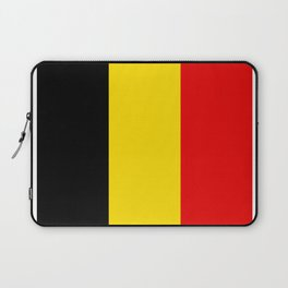 Belgian flag Laptop Sleeve