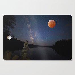 Super Blood Wolf Moon Cutting Board