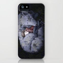 CuddleWolf iPhone Case