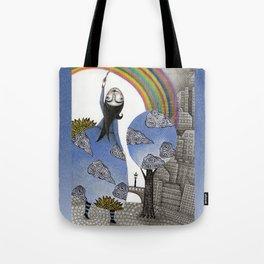 Rainbow Mine Tote Bag