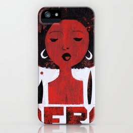 *AFRO* iPhone Case