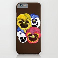 Pansies iPhone 6 Slim Case