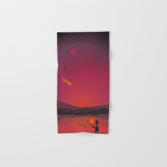 A shooting star Hand & Bath Towel