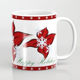 Happy Holiday's (Merry Christmas) (Season' Greetings) Coffee Mug